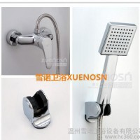 简易花洒套装 简单花洒 全铜淋浴花洒套装 厂家批发XN6465