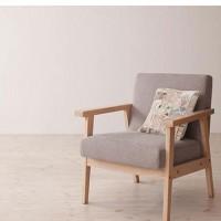 日式可拆洗布艺沙发,咖啡厅休闲布艺沙发椅,顺德休闲沙发