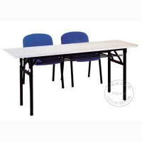 简易 折叠培训桌长条会议培训桌钢架办公桌东莞办公家具