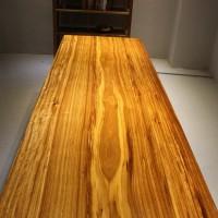 进口非洲实木简约时尚餐桌书桌会议桌办公桌设计现代无拼接乌金木