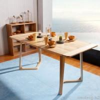 餐厅咖啡厅奶茶店桌椅 北欧乡村休闲客厅实木餐桌 实木伊姆斯桌  实木办公桌  专业书房用桌子