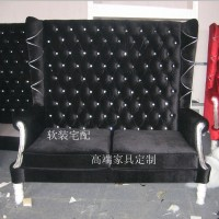 定制\n            新古典经典高背沙发/布艺沙发/