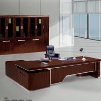 促销董事长办公室 实木油漆3.2米大班台、实木办公桌