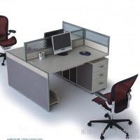 长沙芜湖南昌福州华都家具屏风办公桌厂家直简约现代时尚电脑桌