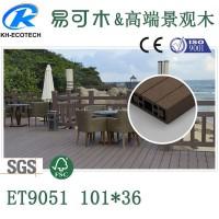 木塑地板 户外木塑材料空心木塑板防滑地板 批发环保塑木