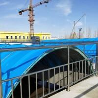 巨卫 玻璃钢污水池盖板 厌氧池盖板 手糊管件 拱形废气臭气收集盖板 公司