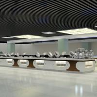 迪克餐厨自助餐厅设计、自助餐厅厨房设备、自助餐台设计方案、 移动大理石餐台厂家定制