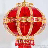 直销春节红灯笼 中式亚克力灯具 自动旋转喜庆装饰灯笼吊灯