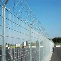 常年 防攀爬安全场所隔离栅 机场Y型支架隔离栅 按规格订制