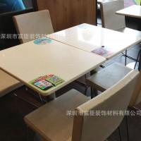 人造大理石KFC餐桌 咖啡桌定制