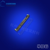 仿铜色系统落水水槽雨檐沟天沟  铝合金pvc下水管吊接器管排水