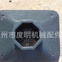 500×400×150 30公斤 镀锌填砼道路/市政护栏底座 连