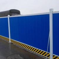 启华厂家供应 工程围挡  施工围挡  彩钢板施工围挡