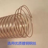 聚氨酯风管 PU防静电钢丝伸缩软管 精创厂家现货