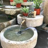 丰路雕塑  现货出售 水槽花盆流水组合摆件 价格优惠