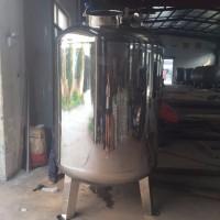 定做8吨厚底立式卧式316 304不锈钢水箱水槽水池水塔消防储水储液罐