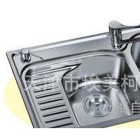 北京埃美柯 XD-251A 不锈钢304水槽 厨房双槽 洗菜