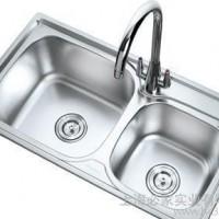 高端不锈钢水槽304不锈钢洗菜盆8143连体外拉丝拉伸水槽