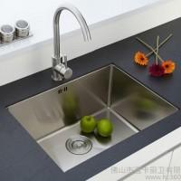 厂家供应304不锈钢单水槽洗菜盆LK1305R