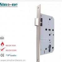 单斜舌 不锈钢304欧标防火门锁体插芯德国DIN标准CE