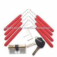 Rarelock练功锁 防盗门锁芯 卡巴锁芯 锁工具套装 锁匠练功锁 练习锁
