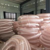 供应TPU伸缩耐磨软管,TPU工业软管,工业吸尘器软管,吸尘软管、输送颗粒耐磨伸缩软管