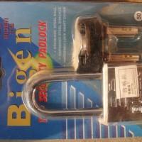 比坚50MMBIGEN防剪挂锁方体挂锁锁头防盗锁机械门锁锁具加长